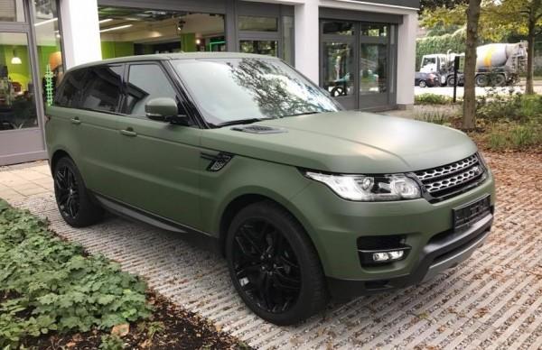Nato Olive Range Rover Sport-0
