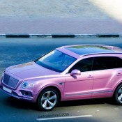 Pink Bentley Bentayga 1 175x175 at Pink Bentley Bentayga Spotted in the Wild