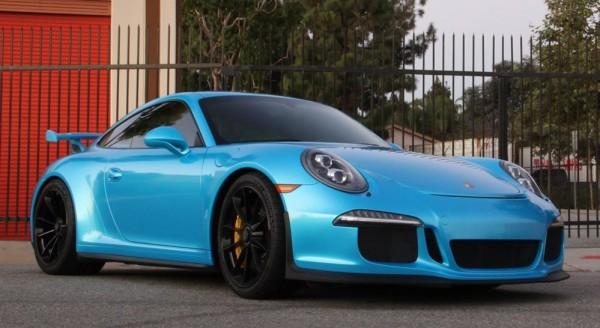 Porsche 991 GT3 Pearl Bahama Blue-0