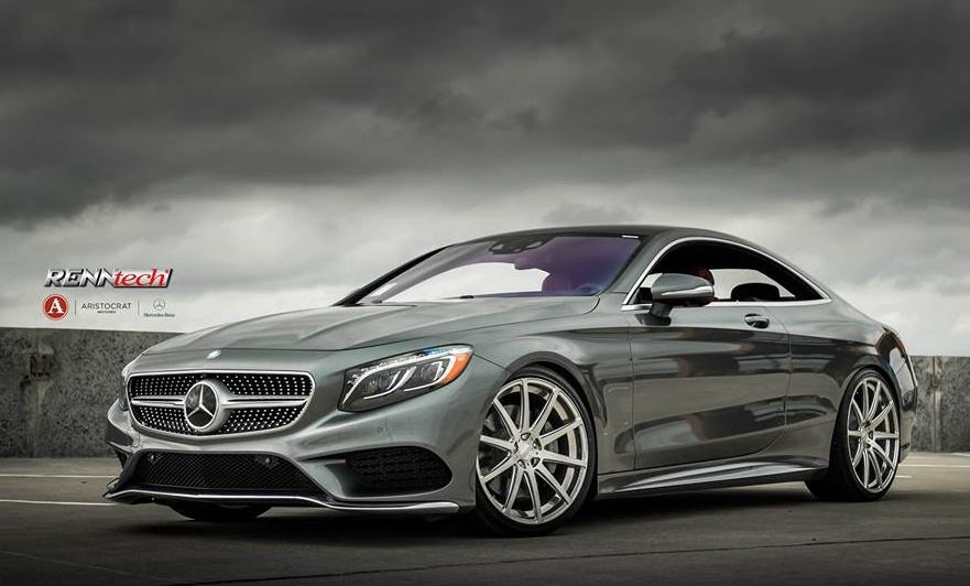 Renntech mercedes s550 coupe by aristocrat for Aristocrat motors mercedes benz