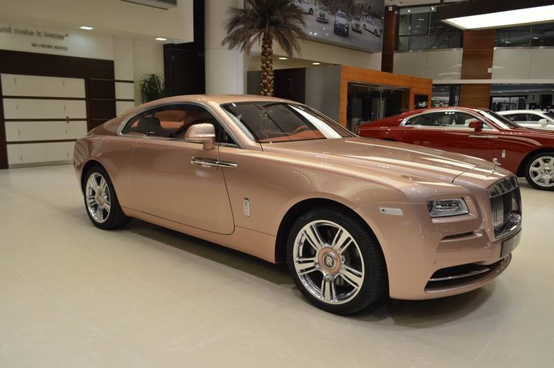 Bespoke Rolls Royce Wraith Sunrise