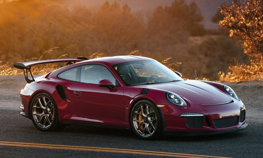 Ruby Red Porsche 991 Gt3 Rs Gains Some Hres