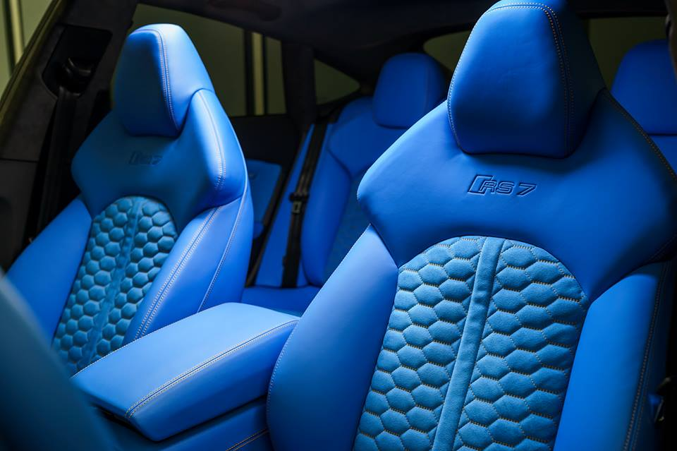 Voodoo Blue Audi Rs7 Is A Thing Of Beauty