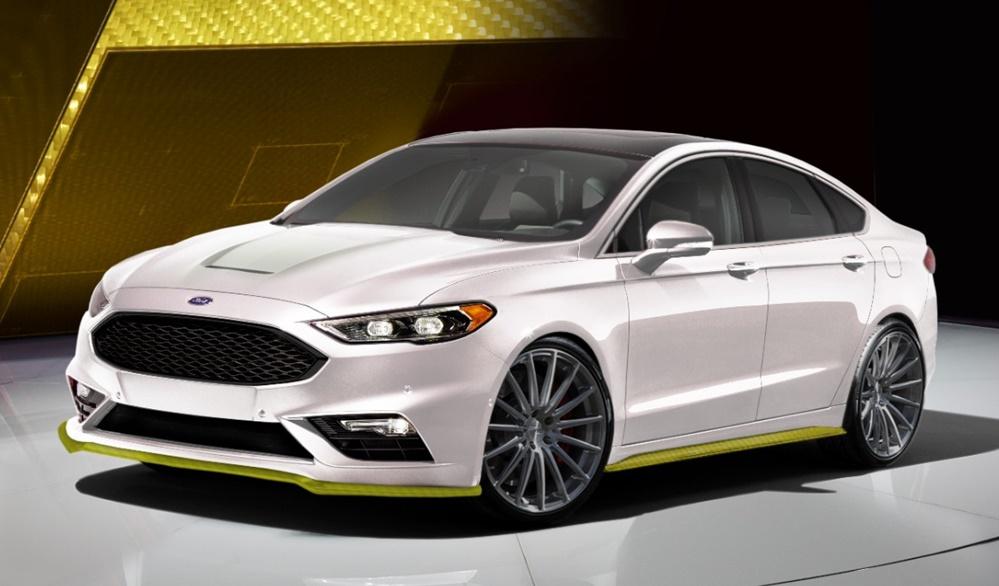 Sema Preview Ford Fusion Sport