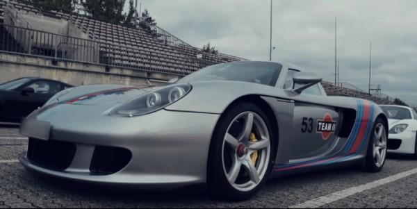 carrera GT ring 600x301 at Porsche Carrera GT Schools the 918 at the 'Ring