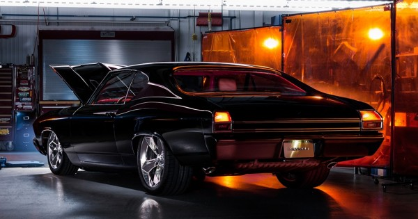 2016 SEMA Chevrolet ChevelleSlammer 002 600x315 at Chevelle Slammer Is the Perfect Restomod