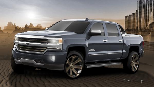 2016 SEMA Chevrolet Silverado HighDesert 019 600x339 at SEMA Preview: Silverado 1500 High Desert