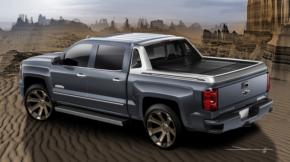 Sema Preview Silverado 1500 High Desert