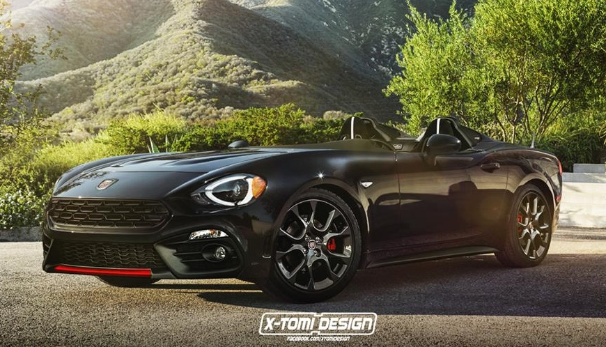 Do Want Abarth 124 Speedster
