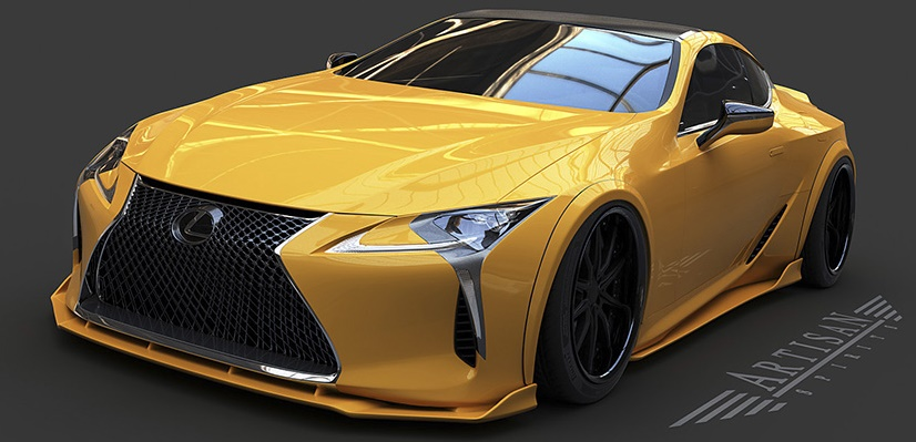 Spotlight: Artisan Lexus LC 500 Body Kit