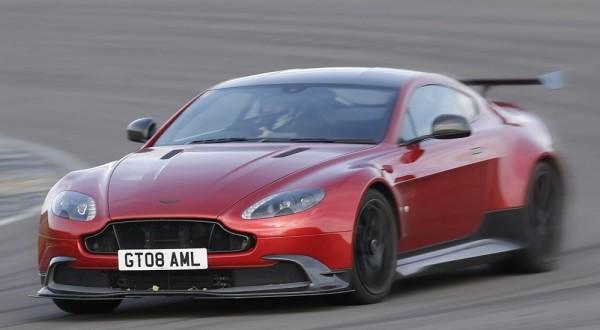 Aston martin gt8 track