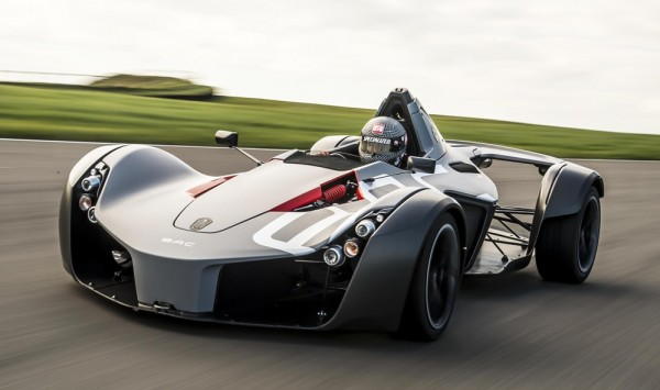 BAC Mono Anglesey 1 600x355 at BAC Mono Beats McLaren P1 GTR's Time at Anglesey