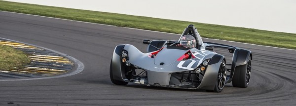 BAC Mono Anglesey 2 600x216 at BAC Mono Beats McLaren P1 GTR's Time at Anglesey