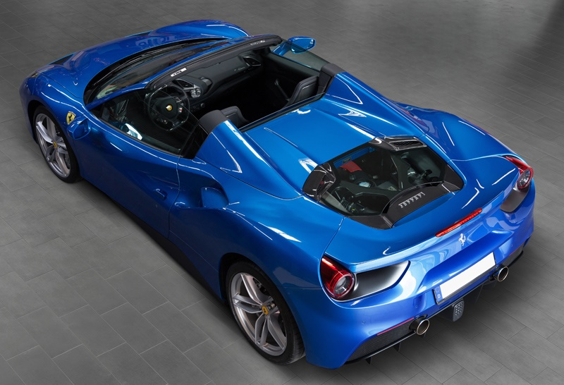 Capristo Ferrari 488 Spider Gets Carbon Goodies