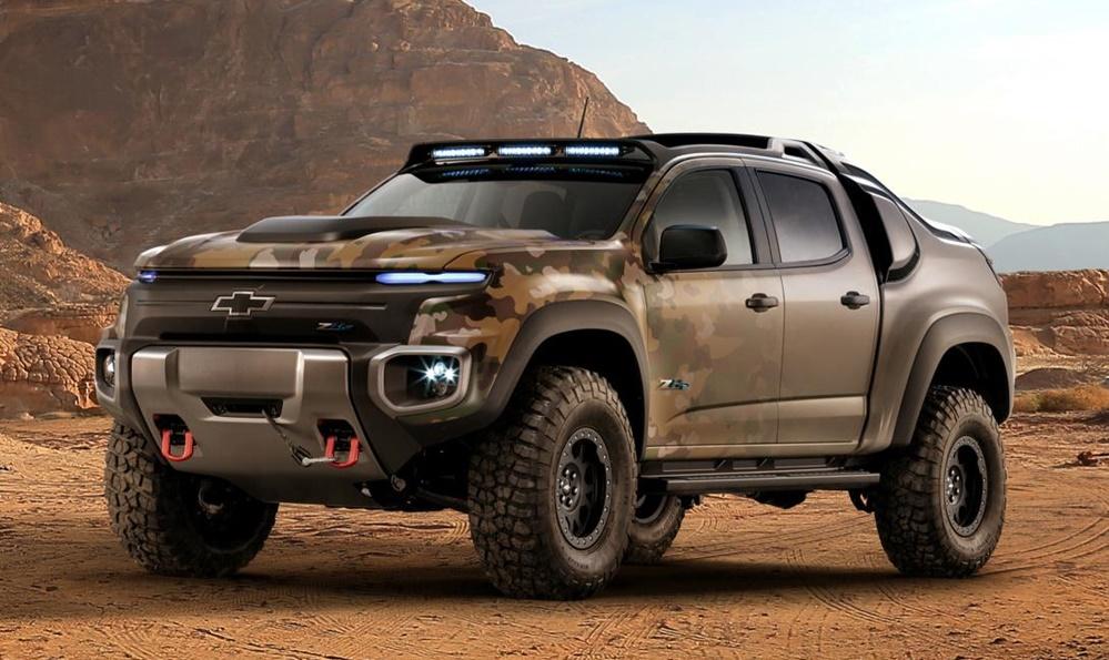 Chevy Colorado Zh2 >> Chevrolet Colorado ZH2 Makes SEMA Debut