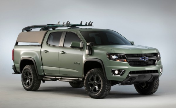 at SEMA Preview: Chevrolet Colorado Z71 Hurley