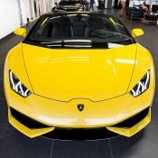 Giallo Inti Lamborghini Huracan Spyder-1