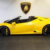 Giallo Inti Lamborghini Huracan Spyder-13