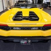 Giallo Inti Lamborghini Huracan Spyder-15
