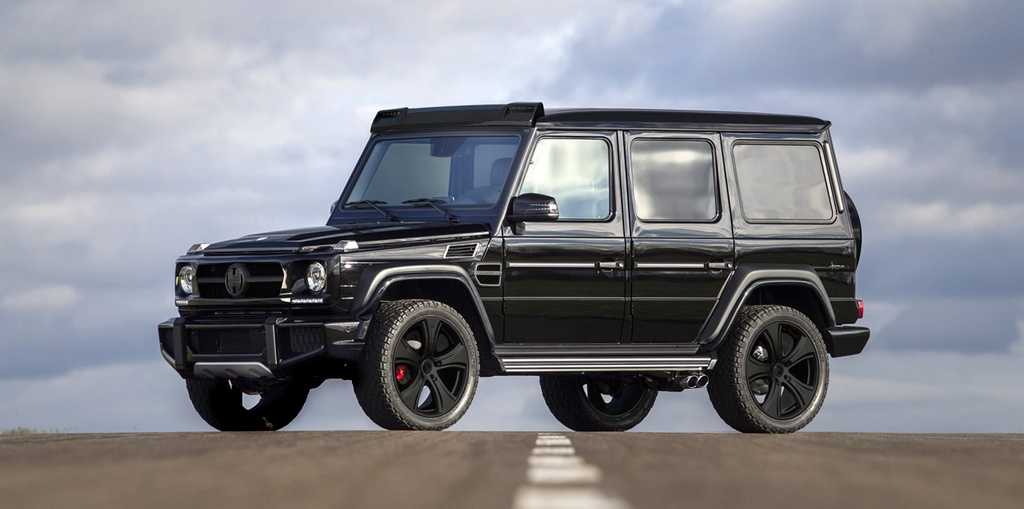The G Cross Hofele Design Mercedes G Wagon