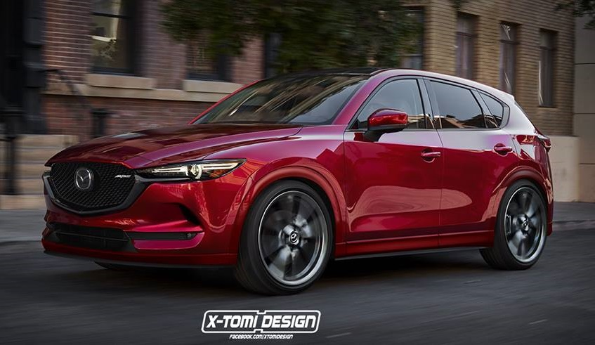 new mazda cx 5 rendered in mps guise. Black Bedroom Furniture Sets. Home Design Ideas