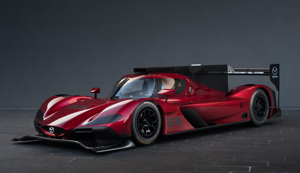 Mazda RT24 P 0 at Mazda RT24 P Prototype Racer Unveiled in L.A.