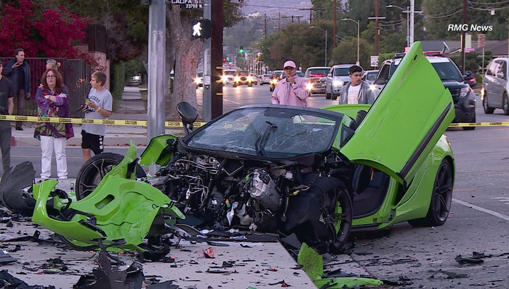 Mclaren 650s And 570s Involved In Heavy Crashes