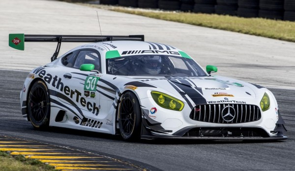 Mercedes AMG GT3 IMSA 0 600x347 at Mercedes AMG GT3 to Compete in IMSA