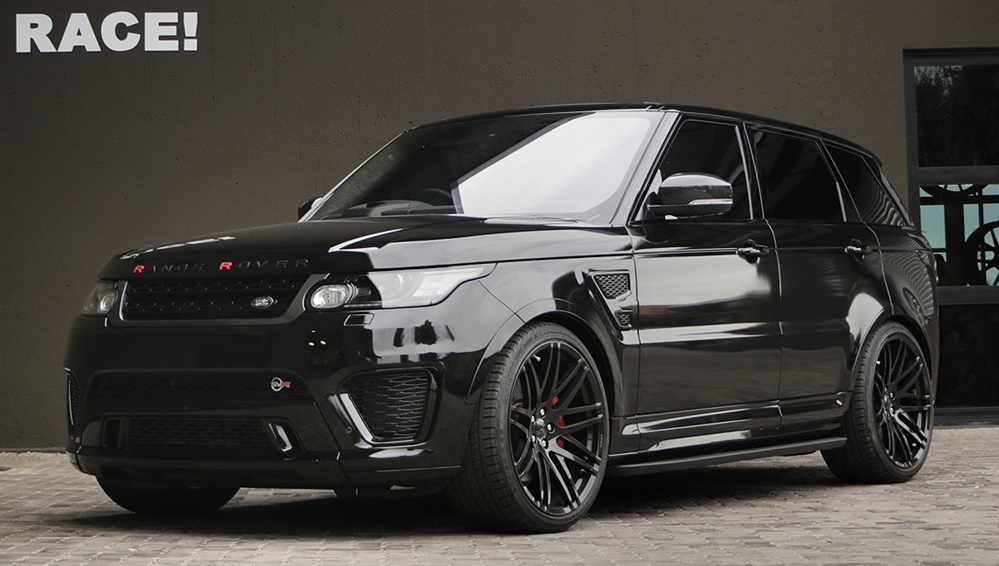 Blackedout Range Rover Sport SVR by RACE  Motorward