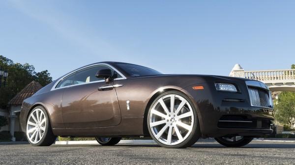 Smoky Quartz Rolls-Royce Wraith-0