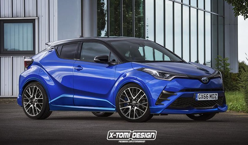 Toyota Chr Philippines >> Toyota C-HR Imagined with TRD Kit