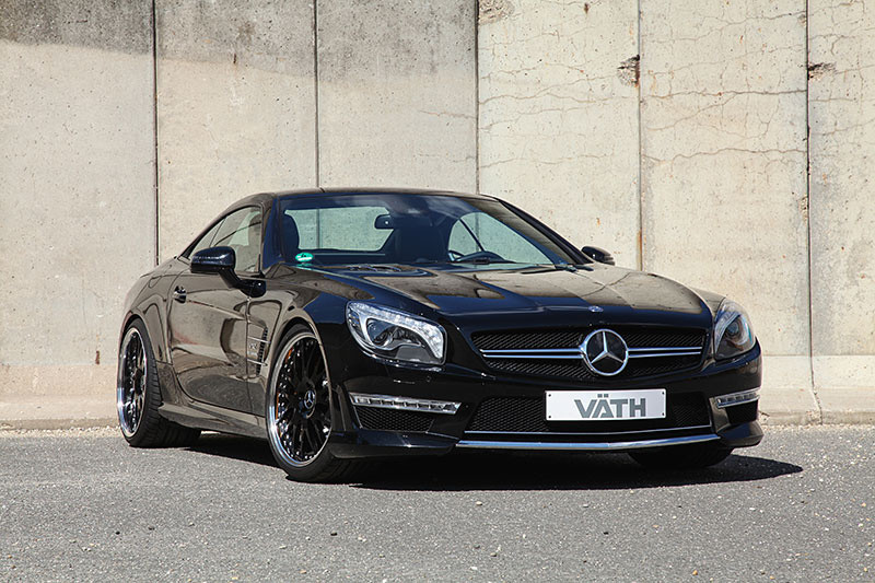 vath mercedes sl65 amg gets 700 ps. Black Bedroom Furniture Sets. Home Design Ideas