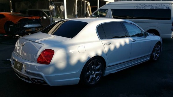 Wald Bentley Flying Spur GodHand 1 600x336 at Wald Bentley Flying Spur by God Hand