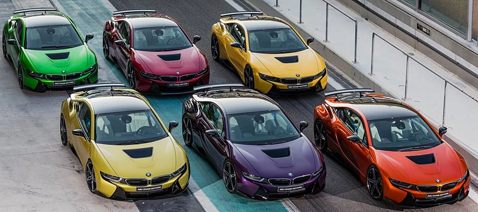 Bmw I8 Rainbow Full 0 600x266 At BMW The Gallery