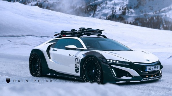 honda nsx snow tactical