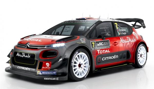 2017 Citroen C3 WRC-0
