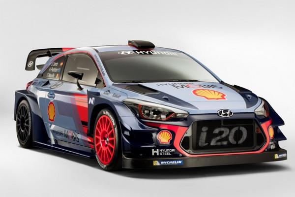 2017 Hyundai i20 Coupe WRC