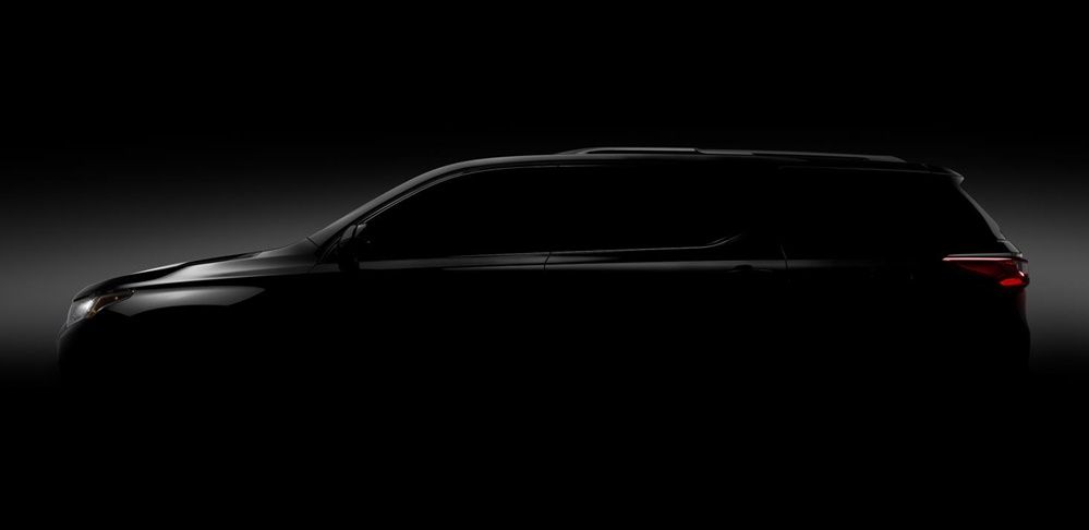2018 Chevrolet Traverse to Debut at NAIAS - Motorward
