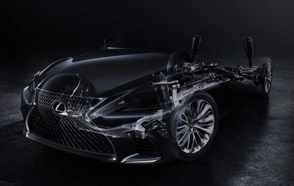 2018 Lexus LF teaser NAIAS