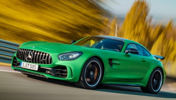AMG GT R Ring 1 600x344 at Watch Mercedes AMG GT R Tackle the Nurburgring