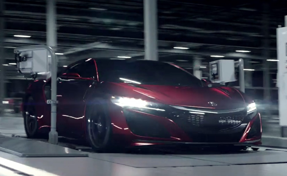 Acura NSX Film at Each Acura NSX Comes with a Film Chronicling its Birth