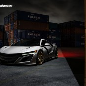 Acura NSX HRE WB 4 175x175 at Spotlight: Acura NSX on HRE Wheels