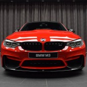 BMW M3 Competition Package Ferrari Red-1