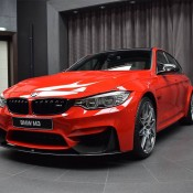 BMW M3 Competition Package Ferrari Red-10