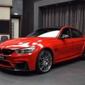 BMW M3 Competition Package Ferrari Red-2