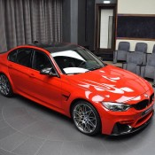 BMW M3 Competition Package Ferrari Red-3