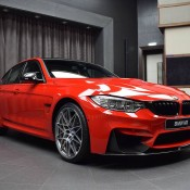 BMW M3 Competition Package Ferrari Red-9