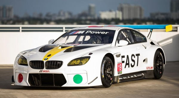 BMW M6 GTLM Art Car 0 600x330 at BMW M6 GTLM Art Car Unveiled at Art Basel