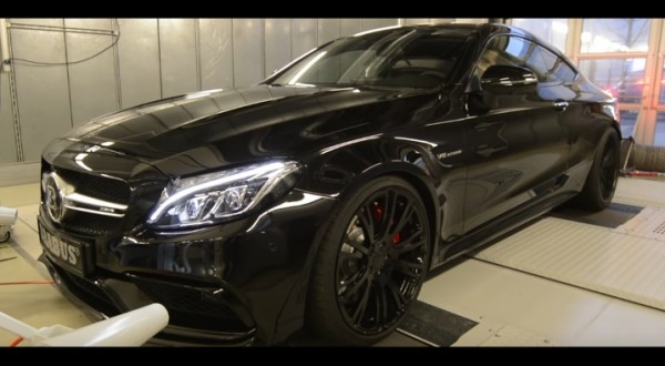 Brabus Mercedes-AMG C63 Coupe dyno