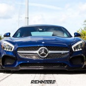 Brilliant Blue RENNtech AMG GT-1